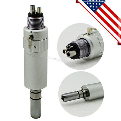 Us Classic Dental Air Motor E-type 4 Hole 4h Slow Low Speed Handpiece Fit Nsk Ce