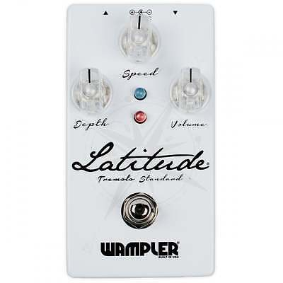 Wampler Pedals Latitude Standard Tremolo Guitar Effect Pedal - Brand New!