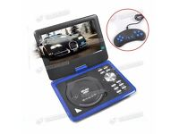 9Inch Portable DVD Player - 270° Rotation, Region Free, Anti Shock, USB, SD, MP3