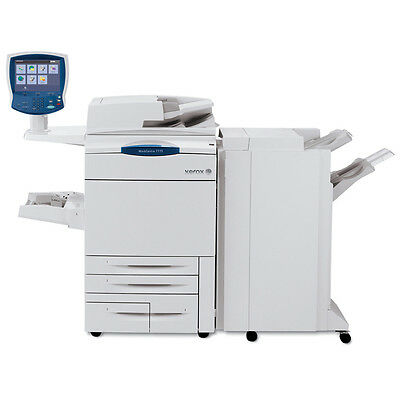 Xerox Workcentre 7775 A3 Color Laser Printer Copier Scanner Finisher Mfp