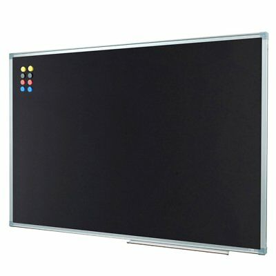 Lockways Magnetic Chalkboard 36 X 24 Black Board Bulletin Magnetic