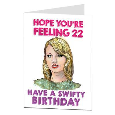 Funny Birthday Card For Her Women Sister Wife Girlfriend Best
