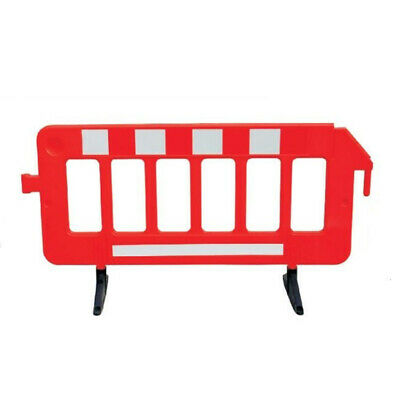 Outdoor Plastic Traffic Fence Flexible Crowd Control Barricade