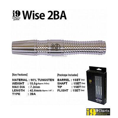 i9 Darts Factory 18 gram Super Grip Darts Barrel 90% Tungsten 2BA - Wise