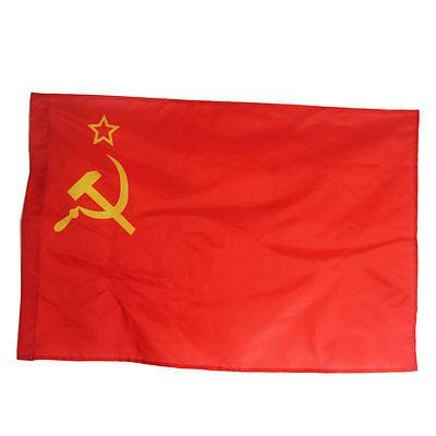 Union of Soviet Socialist Republics USSR Soviet Russia star FLAG  90*60CM
