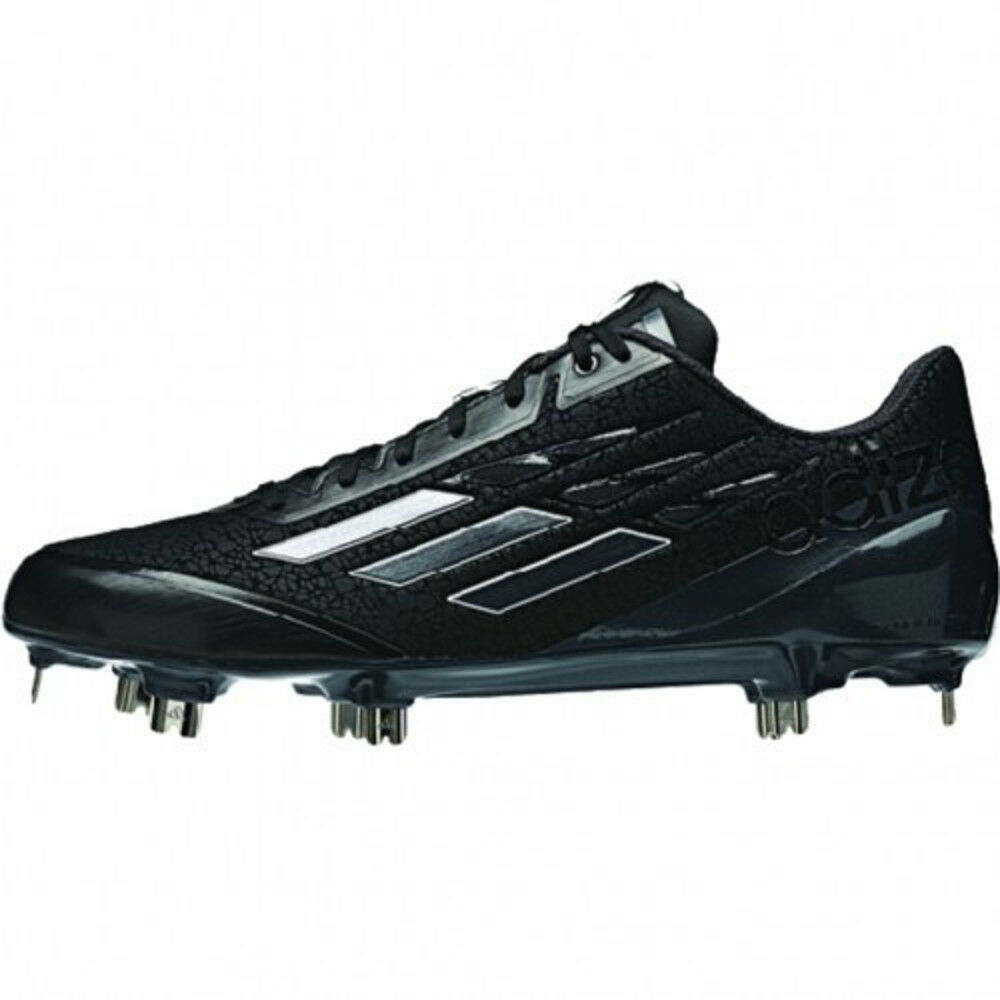 cheap for discount d4a82 6c65f לגברים - NEW Adidas Adizero Afterburner Baseball Metal Cleats Black Carbon  - Choose Size