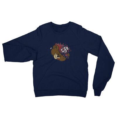 Unisex California Fleece Raglan (Fleece Raglan Sweatshirt)