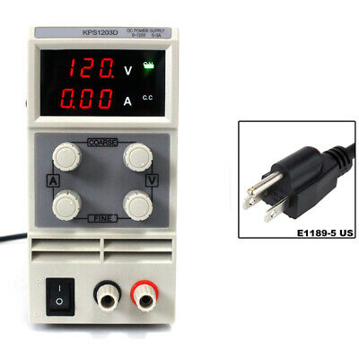 Kps1203d Adjustable Switch Dc Power Supply Output 0-120v 0-3a 110v Small Volume