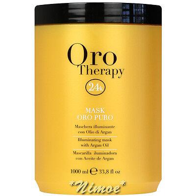 Illuminating Mask 1000ml Oro Puro Therapy 24k ® Micro-active Gold Maschera Argan