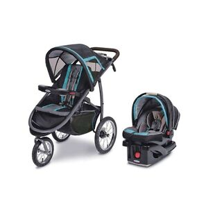 FastAction™ Fold Click Connect Jogger Travel System