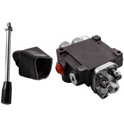 2 Spool Hydraulic Directional Control Valve Tractor Loader W Joystick 11gpm New