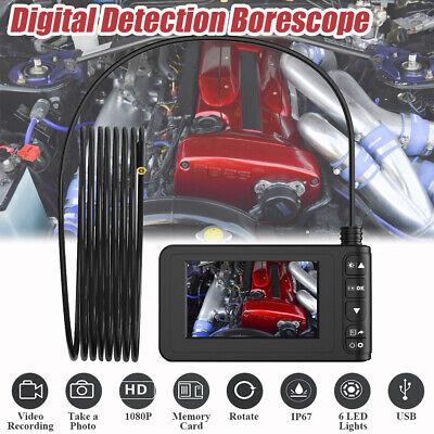 3m Lcd 6 Led 4.3 Hd 1080p Digital Endoscope Borescope Inspection Video