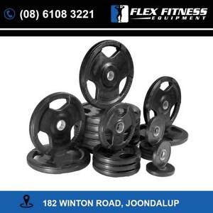 155KGS Olympic Rubber Plates and Barbell Package