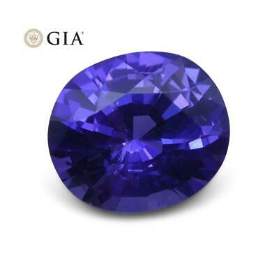 1.73 ct Purple Sapphire Oval GIA Certified Unheated, Sri Lanka