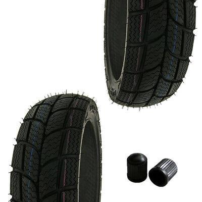 Reifen Set KENDA K701 2x 100/90-10 61J Winterreifen M+S Honda SJ Bali 50 SXR 50