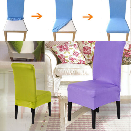 13colors Stretch Super Fit Dining Chair Cover Seat