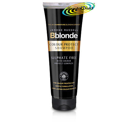 Jerome Russell Bblonde COLOUR PROTECT Sulphate Free CLEANSING SHAMPOO 250ml