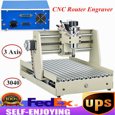 3 Axis Cnc 3040 Router Engraver 3d Cutter Wood Carving Milling Engraving Machine