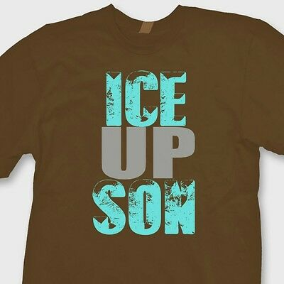 ICE UP SON Carolina Panthers Funny T-shirt Steve Smith Quote Tee Shirt - Carolina Panthers Funny