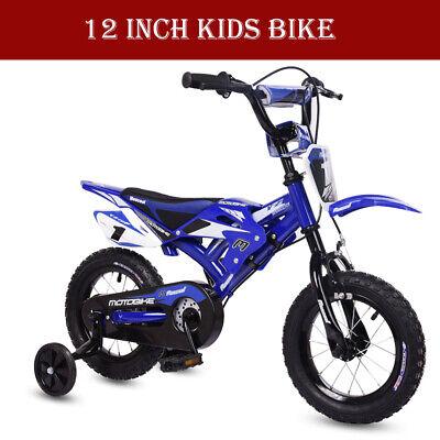 New 12 inch Kids Bike Bicycle Boys Kids Children Moto With Stabilisers Moto Bike