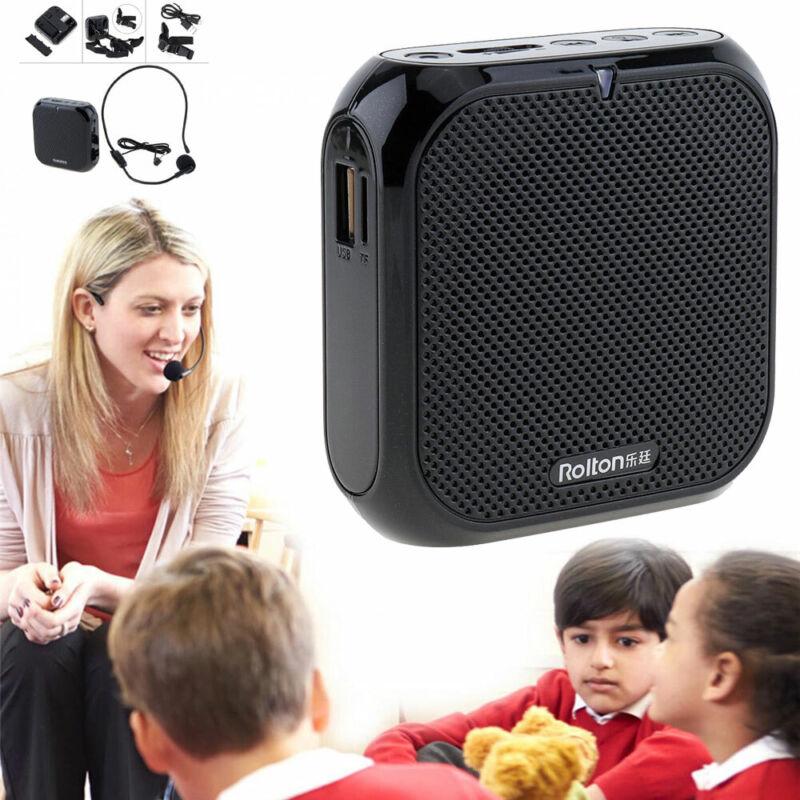 Portable Voice Amplifier Megaphone Waistband Sound FM Radio Teacher Speaker