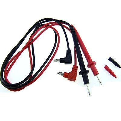 1 Pair Universal Probe Test Leads Pin For Digital Multimeter Meter S528