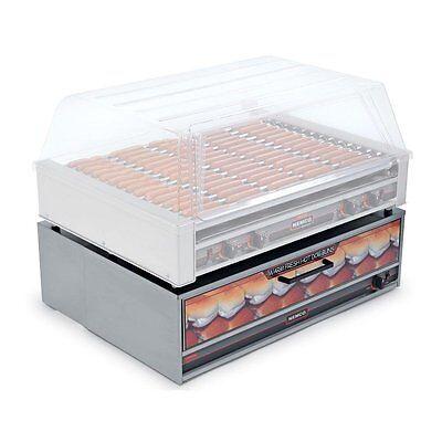 Nemco 8075-bw-220 35.5 Hot Dog Bun Warmer Fit Model 8075 With 64 Bun Capacity