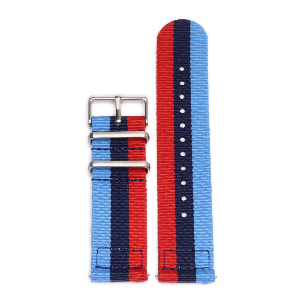Smart Watch 22mm Two-Piece BMW MSport Inspired Strap Nylon W