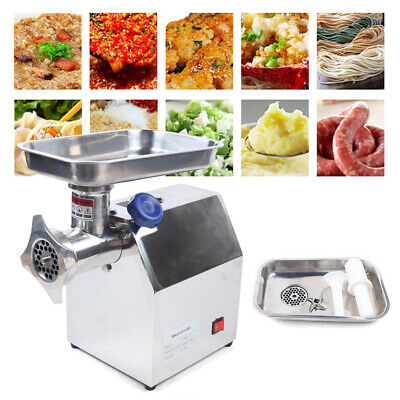Commercial Stainless Steel Meat Grinder Heavy Duty Type12 850w 170kgh Capacity