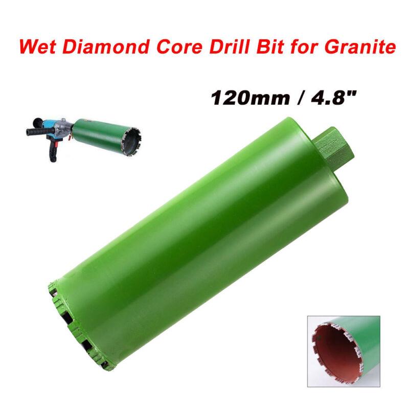 """4-4/5"""" Wet Diamond Core Drill Bit for Concrete - Premium Green Series"""