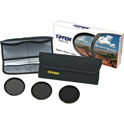 New Tiffen 52mm Digital ND Filter Kit Neutral Density 0.6, 0.9, 1.2 MFR 52NDK3 - $49.95