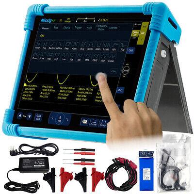 Automotive Oscilloscope Tablet Touchscreen Micsig Ato1104 100mhz 4ch 1gsas