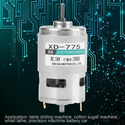 -775 12v24v High Speed Double Ball Bearing Brush Dc Motor 1000020000rpm