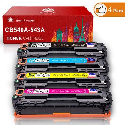 4x XXL Toner für HP Color LaserJet CP1215 CP1515N CP1217 CM1312MFP CP1210 CP1213 Toner Cb543a