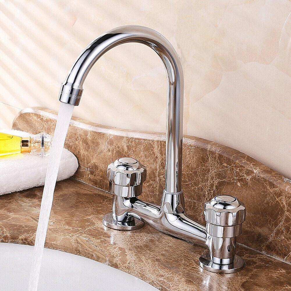 zweigriff bad wasserhahn mischbatterie waschbecken