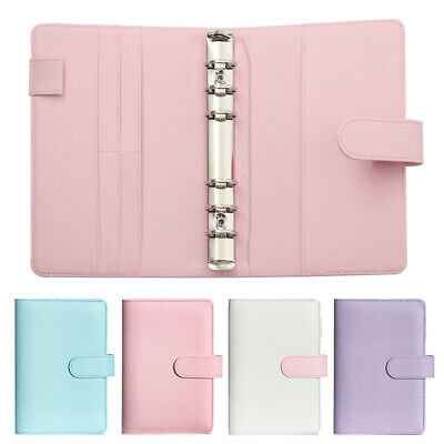 A5 A6 Classic Loose Leaf Ring Binder Notebook Planner Diary Notebook Cover Hot