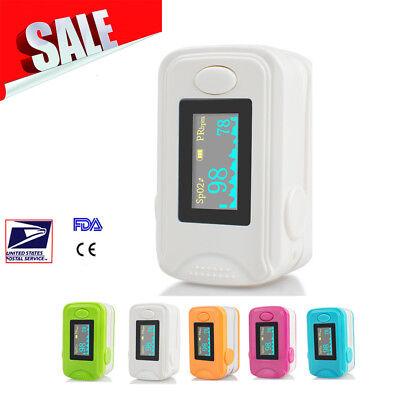 Oled Fingertip Pulse Oximeter Audio Alarm - Spo2 Monitor Finger Puls Oximeter