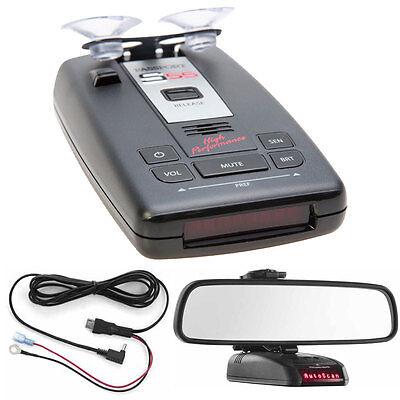 Escort PASSPORT S55 Radar/Laser Detector with Accessories Combo Bundle (Red)