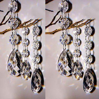 60x Acrylic Crystal Manzanita Tree Hanging Wedding Centerpiece Table Decorations (Manzanita Tree Centerpieces)