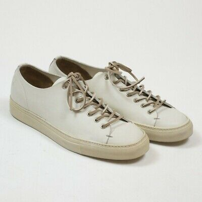 Buttero Tanino Low White Baby Calf Size 41.5 (fits 42 9)
