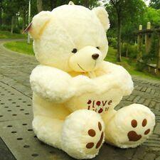 I LOVE YOU U Giant Large Big Teddy Bear Mun Gift Girlfriend Heart Mothers Day