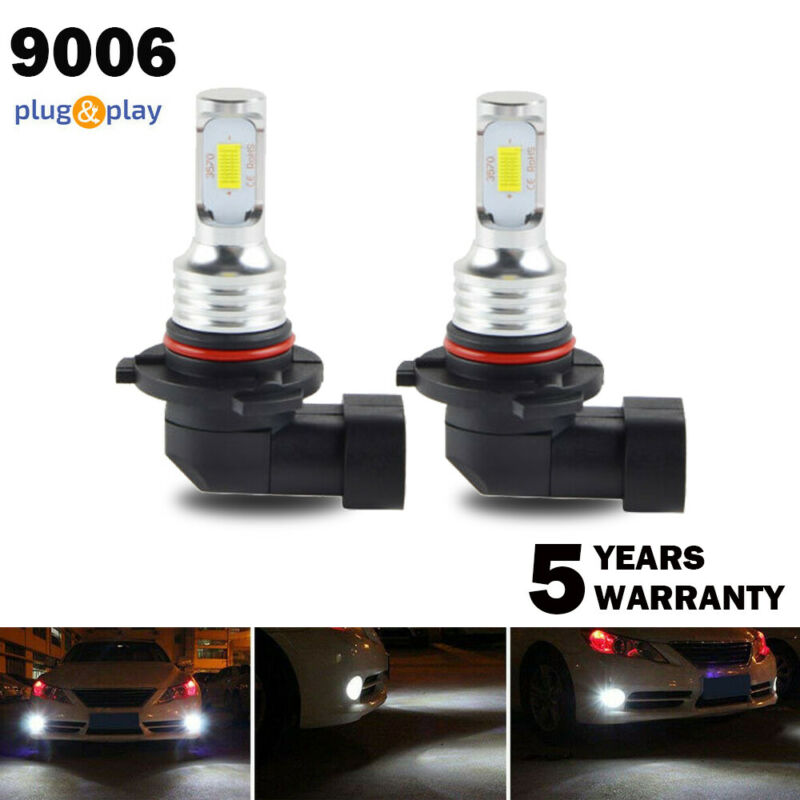 Amazing 9006 HB4 LED Headlight Bulbs Kit Low Beam Fog Lights Upgrade 40W 6000K