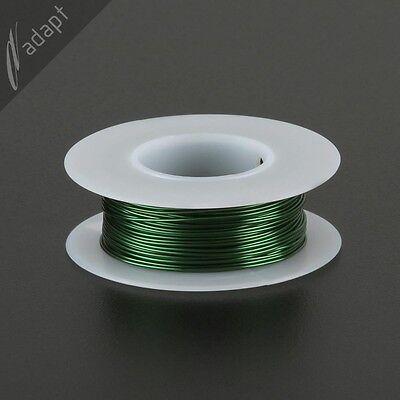 Magnet Wire Enameled Copper Green 22 Awg Gauge 155c 18lb 63ft