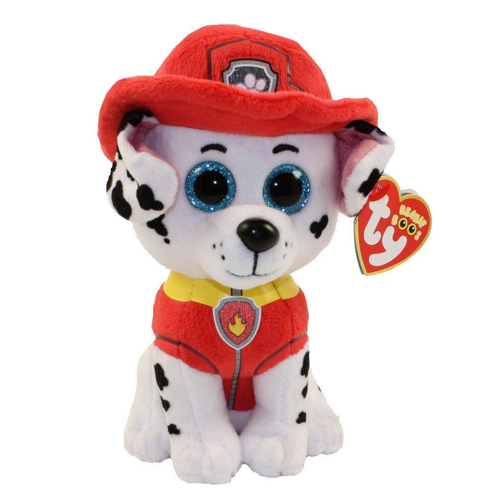 Ty Paw Patrol Marshall Plush Dog Beanie Babies 3+, Boys &