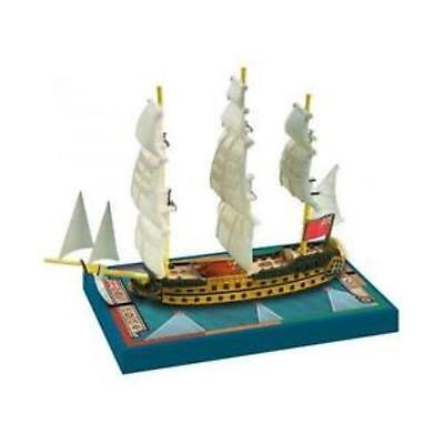 Sails Of Glory Ship Pack Hms Zealous 1785 Board Game Ares Games Srl Ags Sgn104c