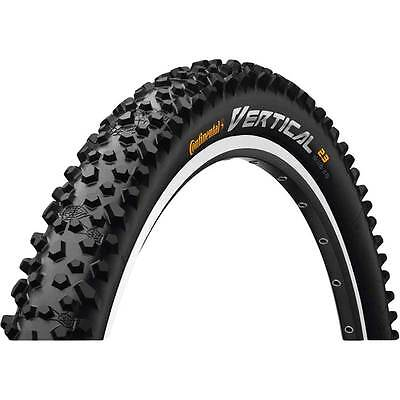 Continental Vertical Draht 26x2,3 57-559 schwarz Fahrrad Reifen (Fahrrad Vertical)