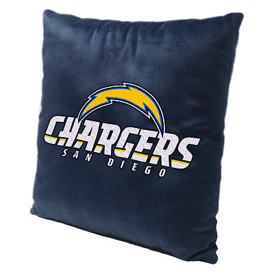 San Diego Chargers NFL Toss Pillow Comfy Soft  - Nfl San Diego