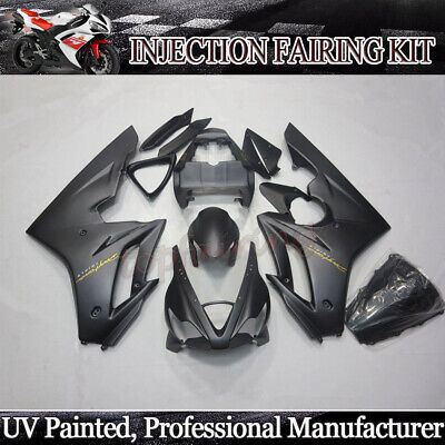 Black Fairing Kit For Triumph Daytona 675 2006 2007 2008 ABS Injection Body Work