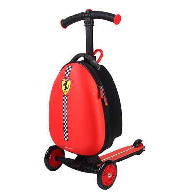 Scooter Luggage Rolling Suitcase Foldable Trolley Travel Carry onboard Bag Kids