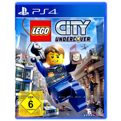 PS4 LEGO City Undercover Sony Playstation Action Spiel USK 6 NEU OVP